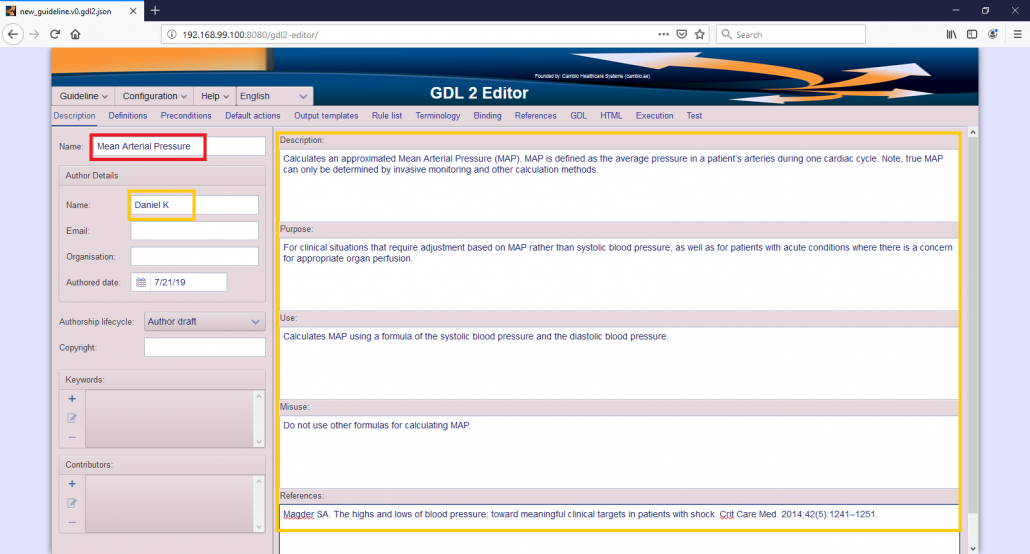Gdl2 Guideline Tutorial Ii Map Guideline Definition Language Gdl